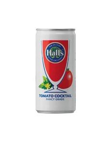 alcohol: HALLS TOMATO JUICE 200ML!