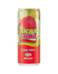 alcohol: LIQUIFRUIT APPLE/CLEAR/ 330ML!