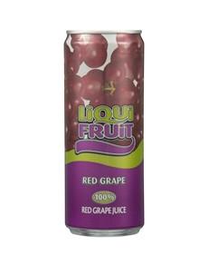 alcohol: LIQUIFRUIT RED GRAPE 330ML!
