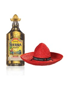 alcohol: Sierra Tequila Gold Reposado 750Ml!