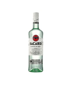 alcohol: Bacardi Carta Blanca White Superior 750Ml!