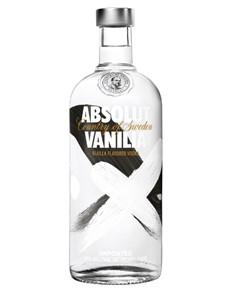 alcohol: Absolut Vodka Vanilla 750Ml!