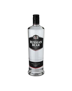 alcohol: Russian Bear Vodka 750Ml!
