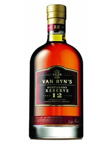 alcohol: Van Ryns 12Yr  Distillery Reserve 750Ml!