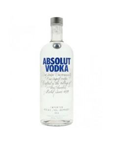 alcohol: ABSOLUT VODKA 750ML !