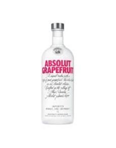 alcohol: ABSOLUT VODKA GRAPEFRUIT 750ML !