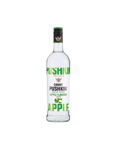 alcohol: COUNT PUSHKIN APPLE 750ML !