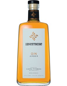 alcohol: INVERROCHE GIN AMBER 750ML !