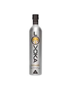 alcohol: LOVOKA VODKA CARAMEL 750ML !