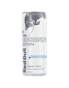 alcohol: RED BULL SUMMER EDITION COCONUT BERRY 250ML !