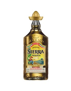 alcohol: SIERRA TEQUILA GOLD REPOSADO 750ML !