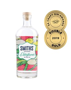 alcohol: SMITHS SOUTH AFRICAN EDERFLOWER GIN 750ML !