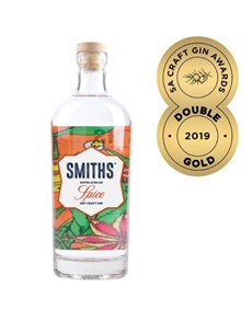 alcohol: SMITHS SOUTH AFRICAN SPICE DRY CRAFT GIN 750ML !