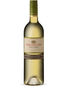 alcohol: TERRA DEL CAPO PINOT GRIGIO 750ML !