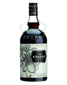 alcohol: THE KRAKEN BLACK SPICED RUM 750ML !