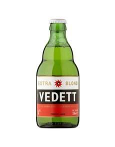 alcohol: VEDETT EXTRA BLOND 330ML D !