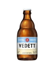 alcohol: VEDETT EXTRA WHITE WEISS 330ML D !