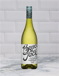 alcohol: BRUCE JACK CHENIN BLANC 750ML X1!