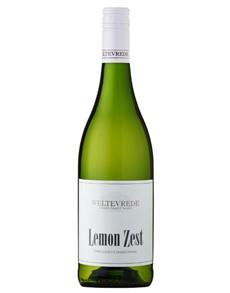 alcohol: WELTEVREDE LEMON ZEST CHARDONNAY 750ML X1!