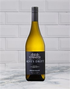 alcohol: ALVIS DRIFT 221 CHENIN BLANC 750ML X1!