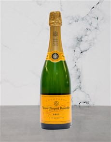 alcohol: Veuve Clicquot Yellow 750Ml!