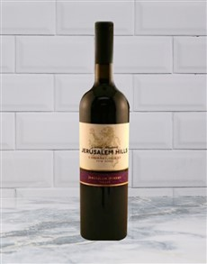 alcohol: JERUSALEM HILLS CAB SHIRAZ 750ML X1!