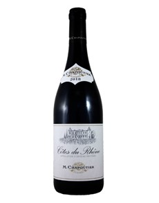 alcohol: M.CHAPOUTIER COTES DU RHONE RED 750ML X1!