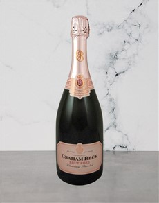alcohol: Graham Beck Brut Rose NV 750Ml!