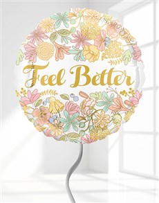 gifts: Feel Better Helium Balloon!