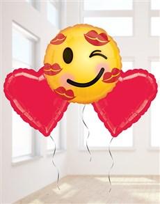 gifts: Love Emoji Balloon Bouquet!