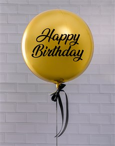 gifts: Golden Celebrations Balloon Gift!