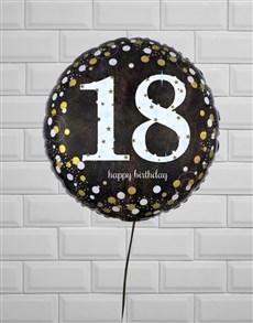 gifts: Ecstatic Eighteenth Birthday Balloon!