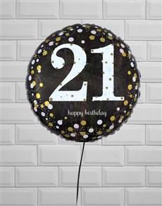 gifts: Terrific Twenty First Birthday Balloon!