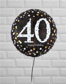 gifts: Fantastic Fortieth Birthday Balloon!