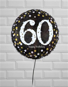 gifts: Sensational Sixtieth Birthday Balloon!
