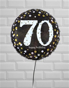 gifts: Successful Seventieth Birthday Balloon!