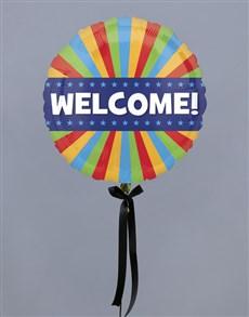 flowers: Warmest Welcome Balloon Gift!