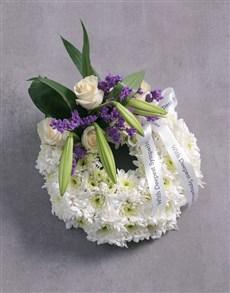 flowers: Funeral Wreath!