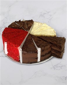 bakery: Chateau Gateaux Four Flavours Variety Cake!