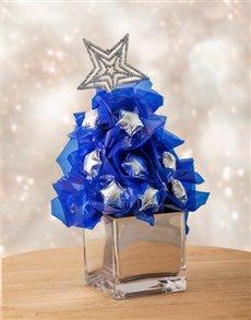 flowers: Silver and Blue Edible Arrangement!