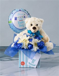 flowers: Baby Boy Chocolate Design Combo!