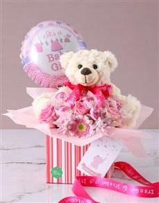 flowers: Its A Baby Girl Edible Arrangement!