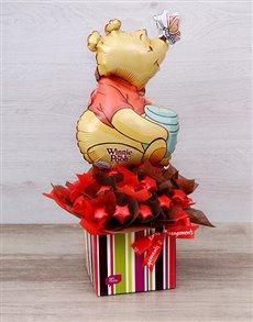 flowers: Pooh Bear Chocolate Star Box!