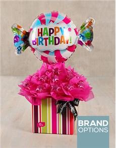 gifts: Sweet Happy Birthday Edible Arrangement!