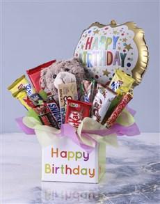 flowers: Happy Birthday Mixed Chocolate Box!