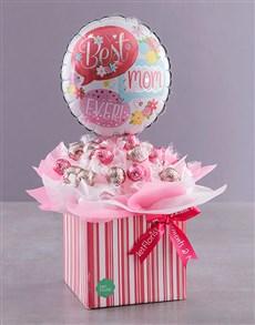 flowers: Mom Edible Lindt Arrangement Gift Box!