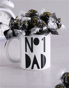 flowers: No1 Dad Arrangement in Mug!