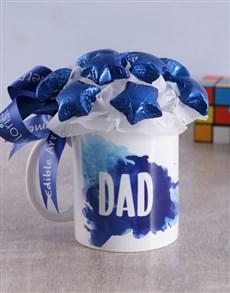 flowers: Star Dad Arrangement in Mug!
