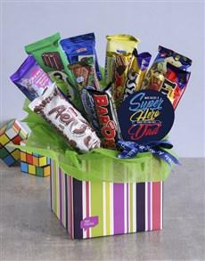 flowers: Superhero Chocolate Box for Dad!