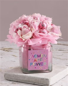 flowers: Pretty Pink Edible Arrangement!